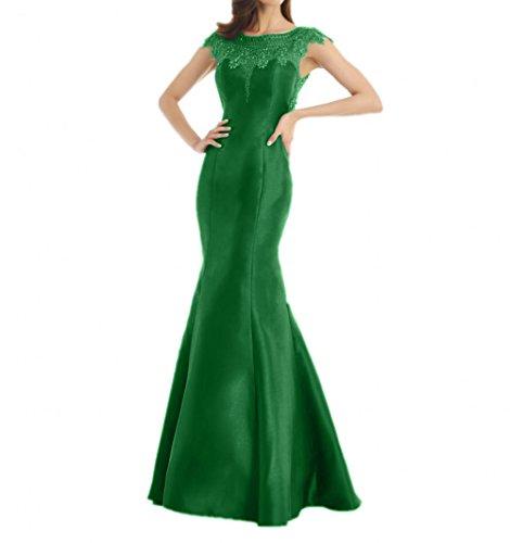 Grün Partykleider Abendkleider Damen Still Blaues Meerjungfrau Brautmutterkleider La Spitze mia Figurbetont Braut wPqfw0X