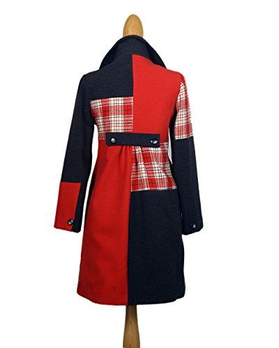 Miss Pepa - Abrigo Jader - Color Rojo Rojo