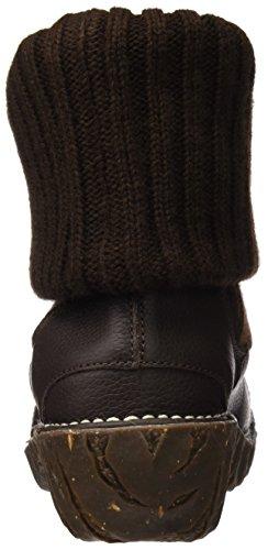 Damen Stiefel Grain Kurzschaft Rot Yggdrasil Soft El Naturalista N097 5wx5TH