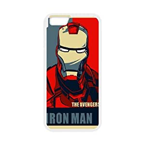 iPhone 6 4.7 Inch Phone Case White Iron Man GN8P2XDI Heavy Duty Cell Phone Cases