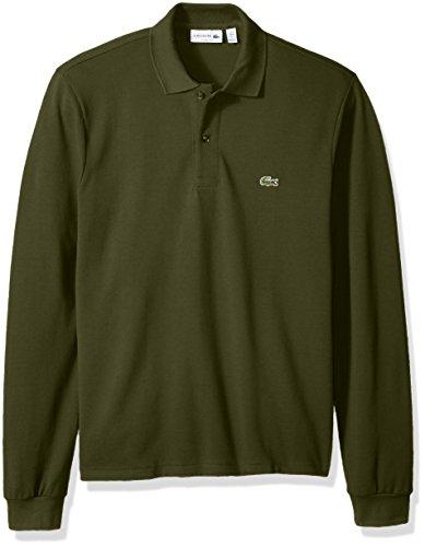 Lacoste Mens Long Sleeve Classic Pique L.12.12 Original Fit Polo Shirt