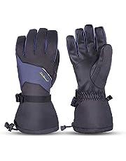 SkyGenius Ski Gloves,Winter Waterproof Snowboard Warm Gloves Touchscreen for Cold Weather Outdoor Sport Men Women