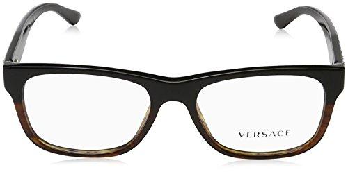 53mm 5117 Pour lunettes 3199 Tortoise de Black Montures Versace ZzPq1a