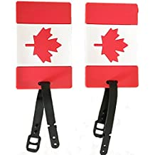 2-Piece Set of Luggage Tags Carry-On Suitcase Travel Air Flight Tags