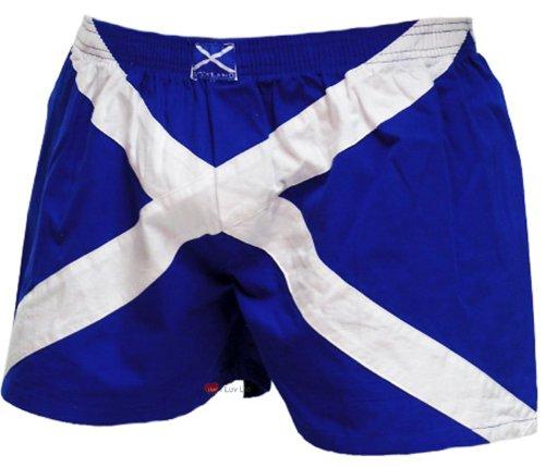 Shorts Boxer Sautoir Bleu