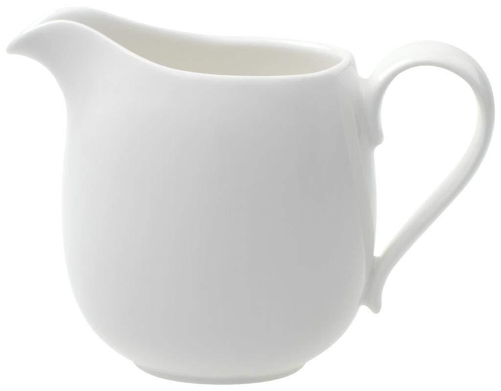 Villeroy & Boch New Cottage Basic Milchkännchen, 300 ml, Premium Porzellan, Weiß