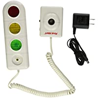 First Alert Parking Alert Sensor with AC Adaptor, White (SFA275)