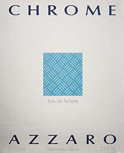 Chrome By Loris Azzaro For Men. Eau De Toilette Spray 3.4 Oz.