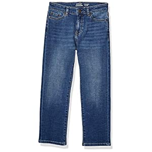 Amazon Essentials Boys' Stretch Straight-fit Jeans