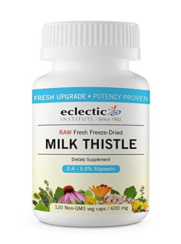 Eclectic Milk Thistle 600 Mg Fduv, Blue, 120 Count