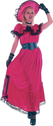 [Women Fancy Dress Gone With The Wind Western Victorian Scarlet O' Hara Costume] (Gone With The Wind Costumes Uk)