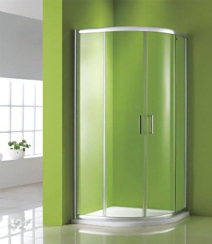 800 x 800 mm mampara de ducha de plato y: Amazon.es: Hogar