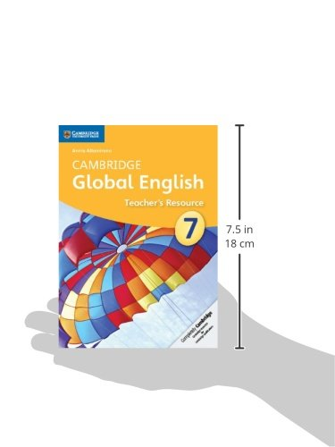 Cambridge Global English Stage 7 Teacher's Resource CD-ROM (Cambridge International Examinations)