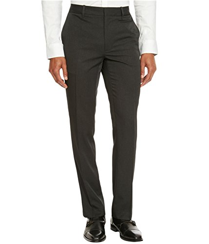 NEW KENNETH COLE REACTION BLACK COMBO PIN STRIPED FLAT FRONT DRESS PANTS 30X30 (Combo Kenneth Black Cole)