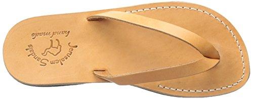 Jerusalem Sandals Mens Jaffa Flip Flop Tan