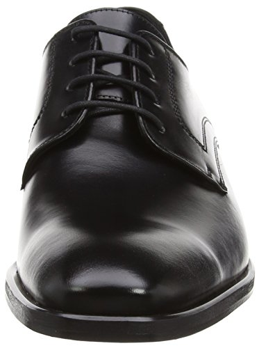 Lloyd DANVILLE - Derby Lace Up Brogues, color Negro, talla 46.5