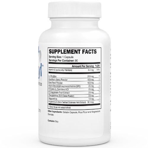 Nitric Oxide Supplement - Increase Endurance and Performance - Best Workout - Improve Memory and Concentration - Comprehensive Formula