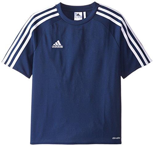 adidas Estro 15 Jersey (Little Big Kids), Dark Blue/White, Small
