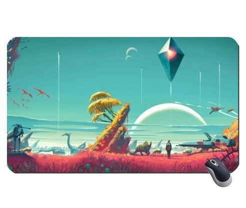 Price comparison product image No man Sky 2001712 super big mousepad Dimensions: 23.6 x 13.8 x 0.2(60x35x0.2cm)