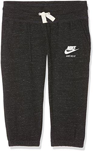 - Nike Sportswear Gym Vintage Big Kids' (Girls') Capris, Anthracite/Sail, Size L