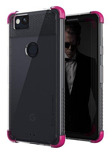 - Google Pixel 2 Clear Case   Ghostek Covert Ultra Thin Slim Shockproof Cover   Premium Shock Absorption   Contemporary Elegant Design   Pink