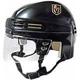 SportStar NHL Vegas Golden Knights Replica Mini Hockey Helmet, Away