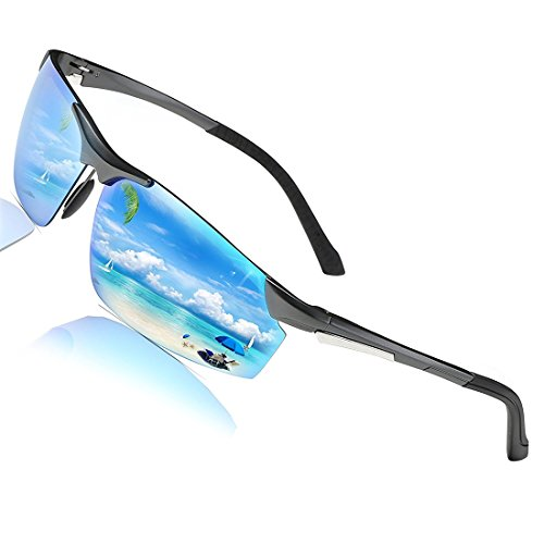 dd49f9d736a COSVER Men s Sports Style Polarized Sunglasses for Men Driving Cycling  Running Fishing Golf Unbreakable - Metal Frame Al-Mg Glasses 2578 - Buy  Online in ...