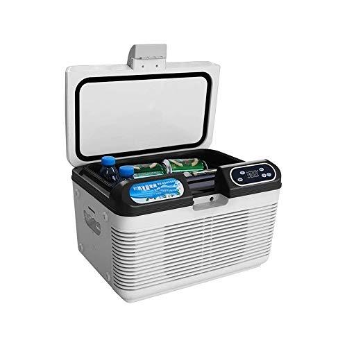 QWE XISABCS 12L Portable Refrigerator Vehicle, Car, Truck, RV, Boat, Mini Fridge Freezer for Driving, Travel, Fishing, Outdoor -12/24V DC