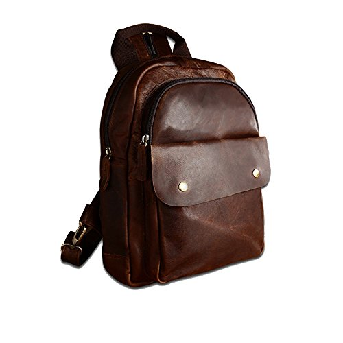 Camping Crossbody Backpack Sling Brown Crossbody Sling Outdoor Bag Backpack Purse Sports for Women Chest for Men Ybriefbag Shoulder Hiking Pack Bag 07FZF