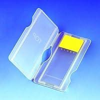 Globe Scientific 513041B Polypropylene Slide Mailer for 2 Slide, Blue (Case of 1000)