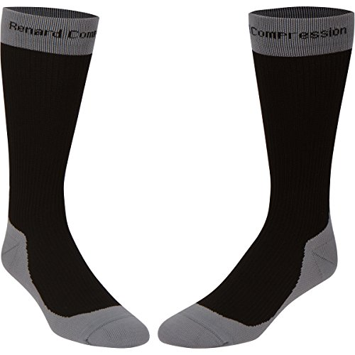 Compression Socks 20-30mmHg for Men and Women - Premium Running Socks for Traveling Long Flights, Nurses, & Athletic Sports - Accelerate Recovery Knee High Compression Stockings
