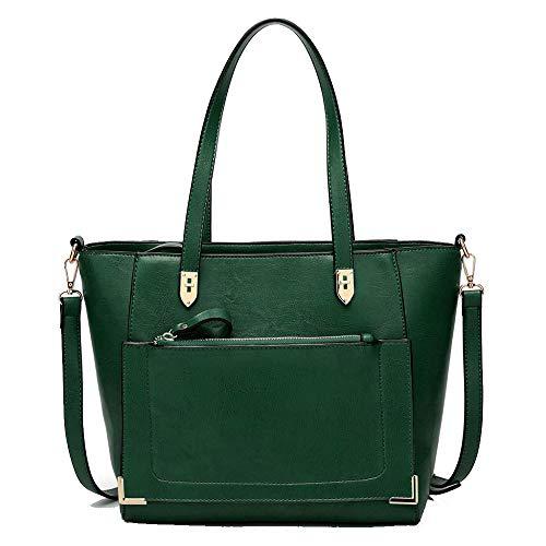 05b0aea31 La Las Elegantes Bolso De Green Del Hombro Mujeres Bolsos Mirada Para  Diseño Manera 435RjLA