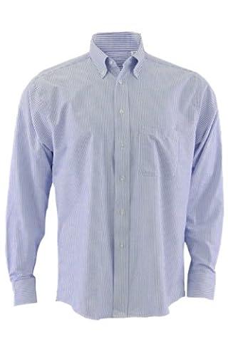 Edwards Garment Men's Long Sleeve Oxford, 20
