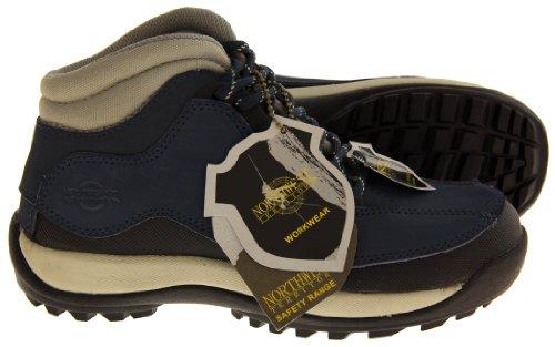 Marineblau Territory Sicherheitsstiefeln Northwest Damen Leder 6TqAWaW14