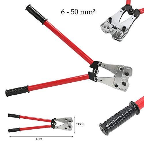 10-120mm2 Crimping Pliers Wire Wire Wire Terminal Crimping Tool Anti-Slip Cable Crimper Durable Electrician Ratchet Plier B07LFGZXC8 | Nutzen Sie Materialien voll aus  c0cdaf