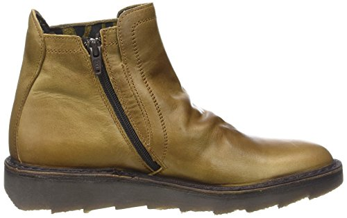 para Adit951fly Mujer Botas London Desert Fly Camel Marrón 7zwRqBH