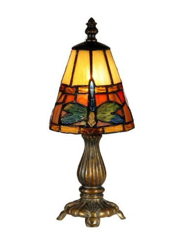 Tiffany Dale Lamp Accent (Dale Tiffany TA13005 Cavan Tiffany Accent Lamp, Fieldstone)