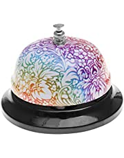 NUOBESTY Bloemen Bureau Bell Receptie Bell Call Bell Klantenservice Bell voor Hotels Scholen Restaurants Receptie Gebieden-1 stks (Stijl 1)