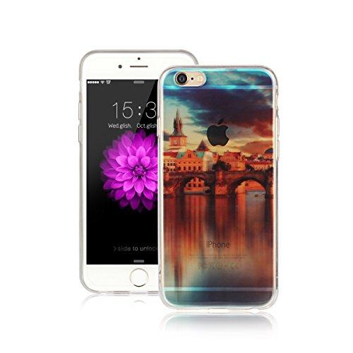 Per Apple iPhone 6 / iPhone 6S (4.7 Pollici) Custodia ZeWoo® Custodie in TPU silicone Case Cover - AK007 / Architettura europea