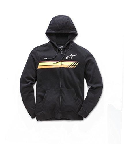 51112 Alpinestars Shirt Noir 1018 Homme Xzbu4z À Sweat Capuche Y7gbf6yv
