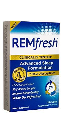 REMfresh 2mg Melatonin - Advanced Sleep Formulation