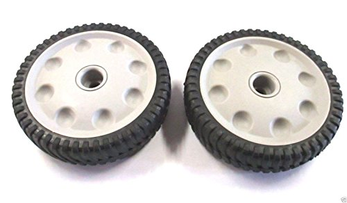 - MTD 734-04018C Pack of 2 Front Drive Wheels for Troy-Bilt