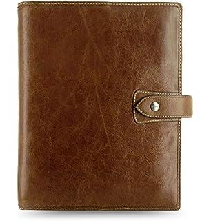 Amazon.com : Filofax Malden Leather A5 Ochre Organizer ...
