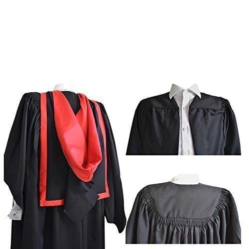 Luxury Plissettato Graduate Masters e accademica shape full Flauto Red aspirante qS5rBw4qx