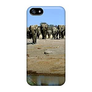 For Iphone 5/5s Protector Case Heading To The Water Hole Phone Cover by Maris's Diary