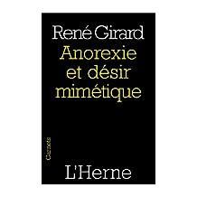 Anorexie et désir mimétique (French Edition)