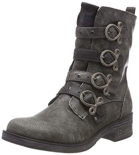 Botines 21 Mustang Argenté Femme Silber Stiefelette Pxq86O