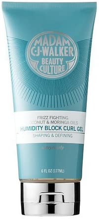 Madam C J Walker Beauty Culture Coconut Moringa Oils Humidity Block Curl Gel By Madam C J Walker Beauty Culture Amazon Co Uk Beauty