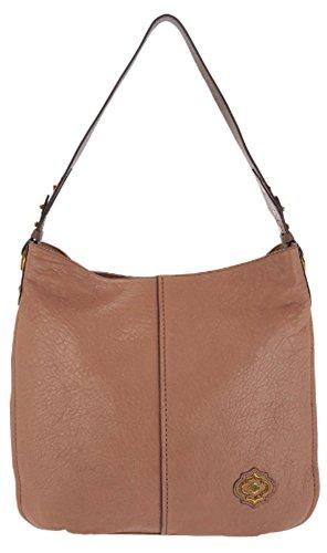 Lamb Leather Hobo Handbag (orYANY Aimee Lamb Leather Hobo Handbag, Truffle)
