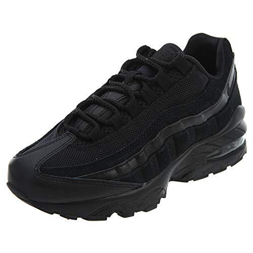 (Nike Unisex Kids' Air Max 95 (gs) Low-Top Sneakers Black 055, 3.5 UK 3.5 UK)